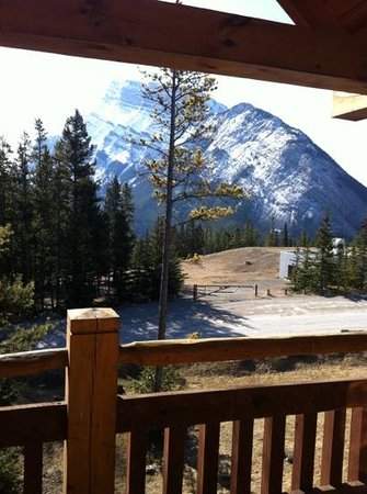 Buffalo Mountain Lodge: view