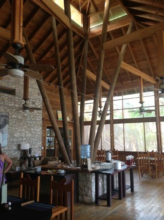 Utopia Dive Village: Main dining room