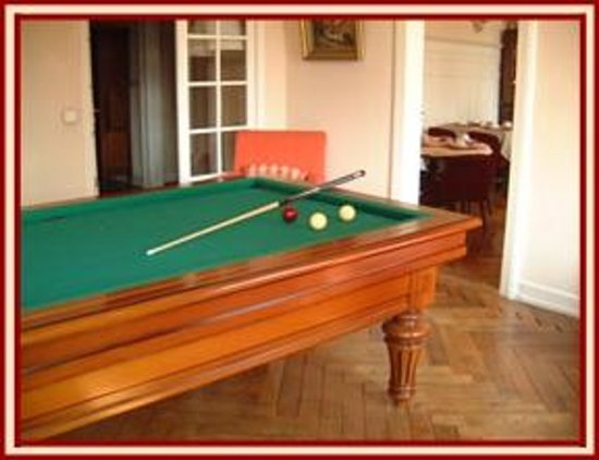 Saint Louis, Frankrike: Billard