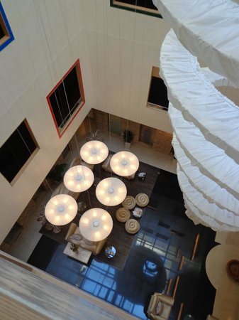 Iberostar Grand Hotel Budapest: View of the Atrium from Above