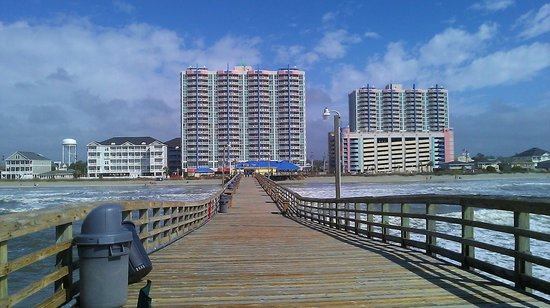 Prince Resort Condos: View from the pier