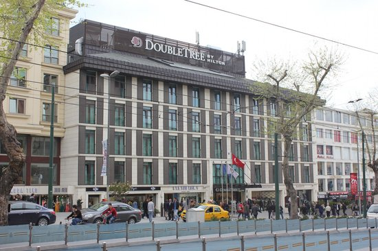 DoubleTree by Hilton Istanbul - Old Town: From across the road