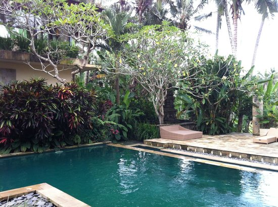 Pejeng, Indonesien: pool side