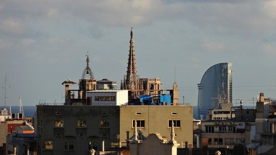 Renaissance Barcelona Hotel : View from roof