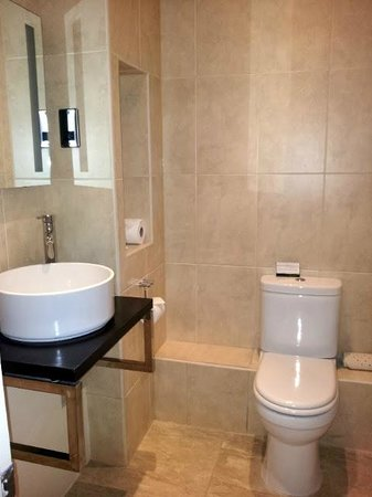 Hawkwell House Hotel: Bathroom