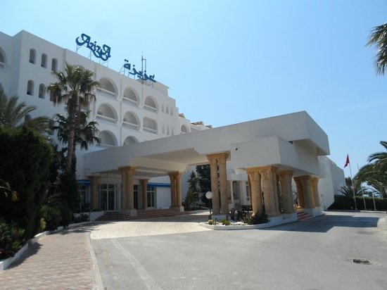SENTIDO Aziza Beach Golf & Spa: Front of the hotel