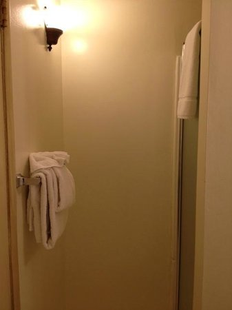 Monte Verde Inn: Tiny Shower