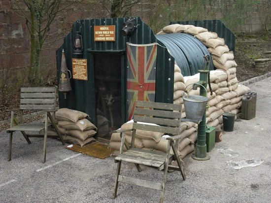 Littledean, UK: Anderson shelter