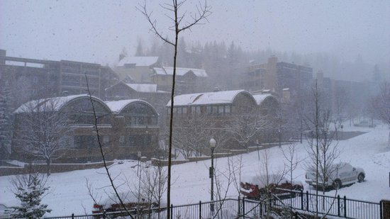 Hyatt Grand Aspen: View from our room!