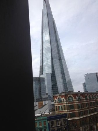 Hilton London Tower Bridge: view if shard from room 424
