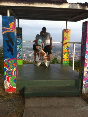 Las Clementinas: At the top of Cerro Ancon