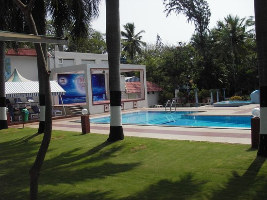 Ideal Beach Resort : Pool with concession (charge your room), attendants, towlels, chairs and spa. 