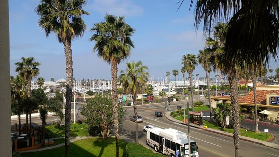 Crowne Plaza Redondo Beach & Marina: view from my balcony