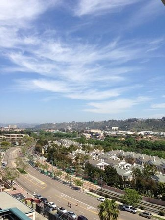 DoubleTree by Hilton Hotel San Diego - Mission Valley: View:  looking east from 11th floor.