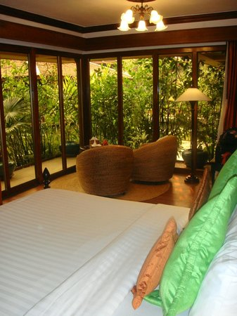 Angkor Village Hotel: View from hotel room