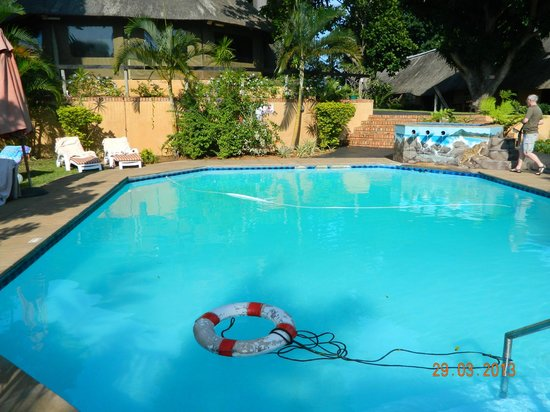AmaZulu Lodge: sparkling blue pool