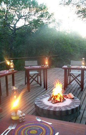 Shikwari Bush Lodge: boma