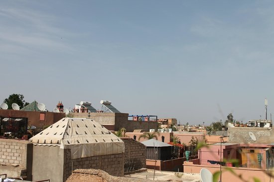 Riad Nesma: view from roof terrace