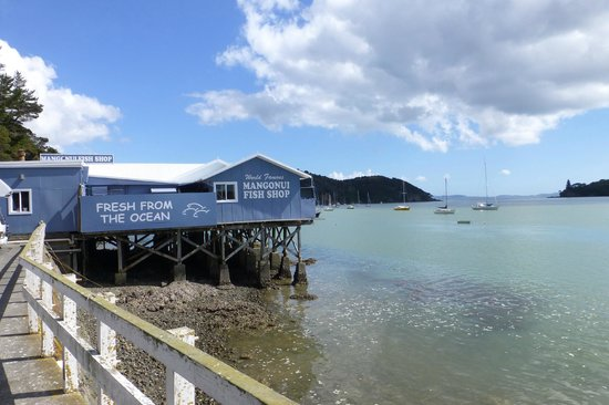 Mangonui, New Zealand: Beautiful setting