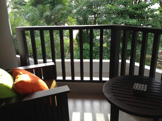 Holiday Inn Resort Baruna Bali: Great corner balcony