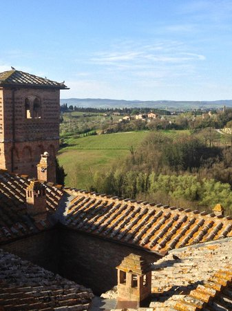 Castello delle quattro torra: Another view from the tower room
