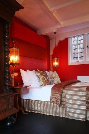 Boutique B&amp;B Kamer01: Red Room sleeping area