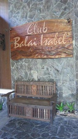 Club Balai Isabel: Balai Isabel lanai area