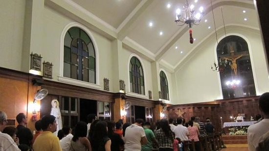Club Balai Isabel: The chapel: New Year&#39;s Mass