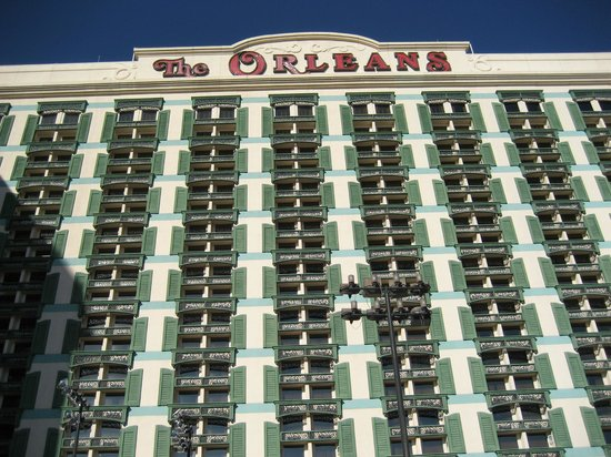 The Orleans Hotel &amp; Casino: A view from the main entrance