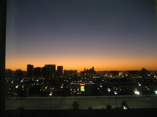 The Orleans Hotel &amp; Casino: What fantastic sunrises from my room