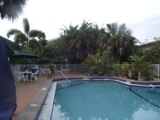 Ramada Airport-Cruise Port Fort Lauderdale: Pool area