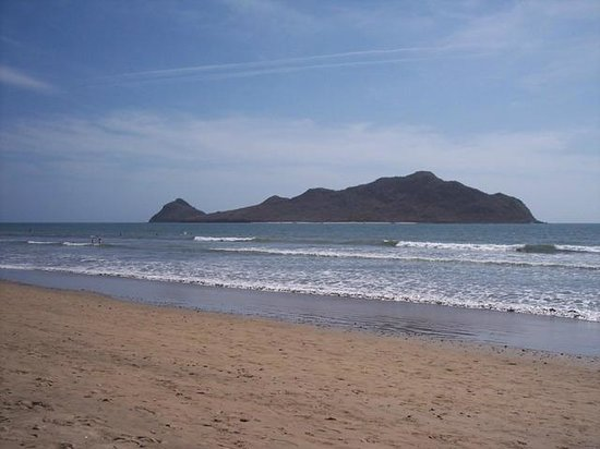 Mariana Beach Apartments & Hotel: The private beach at Mariana Beach Hotel. Mazatlan. Rooms less than $50.00