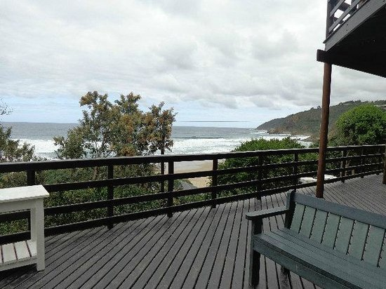 Wilderness Beach house: Day time view