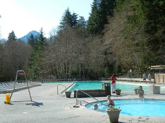 Sol Duc Hot Springs Resort: hot springs pools &amp; freshwater swimming pool