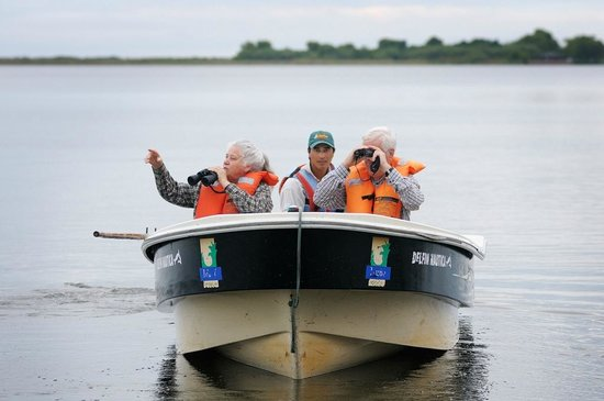 Colonia Carlos Pellegrini, Argentina: Boat safaris