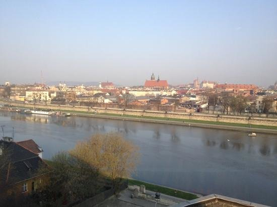 Qubus Hotel Krakow: view on the old city