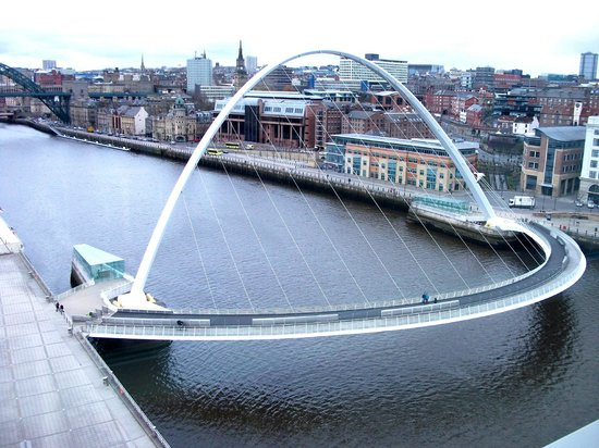 Gateshead Millenium Bridge England Address Phone