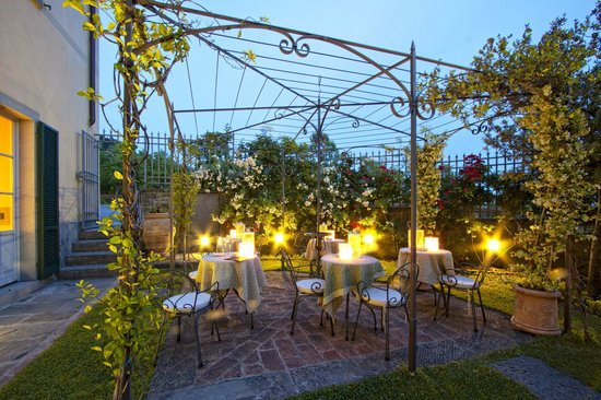 Villa Marsili Hotel : Giardino Villa Marsili Cortona 