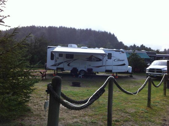 Oceanside RV Park: #45 Lots of room