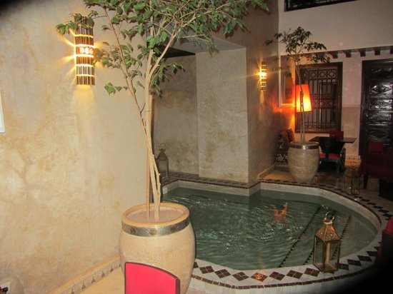 Riad Argan : patio 