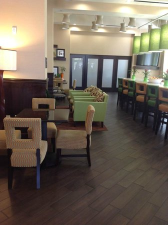 Hampton Inn & Suites Chattanooga / Downtown: Dining Area