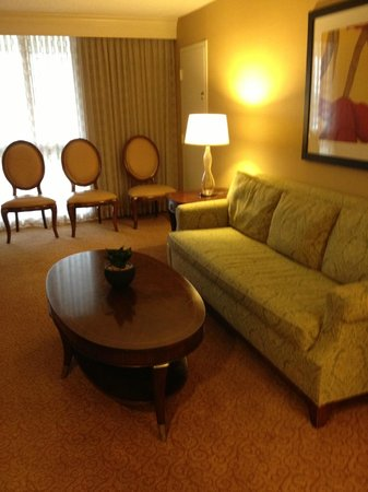 Los Angeles Airport Marriott: Pull out sofa Suite 4073
