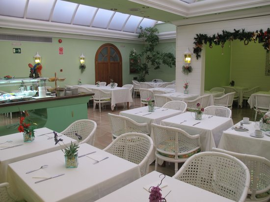 Lleo Hotel : sala colazione 