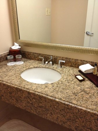 Marriott Anaheim: Sink Room 339