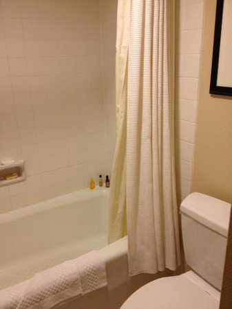 Marriott Anaheim: Tub Shower Combo Room 339