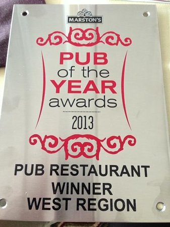 Denstone, UK: Pub of the Year awards 2013