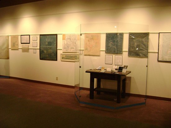 Ilwaco, Etat de Washington : A recent special exhibit - maps