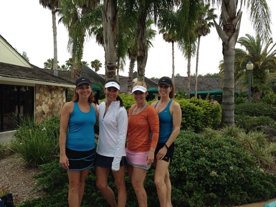 Saddlebrook Resort Tampa: Our Saddlebrook group!
