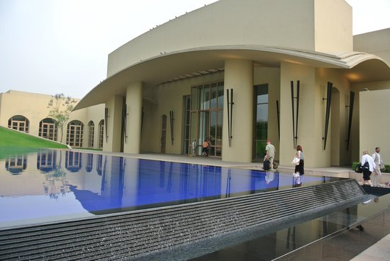 Trident, Gurgaon: Entry to hotel