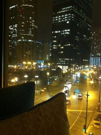 Hotel Monaco Chicago - a Kimpton Hotel: View from 5th Floor at night